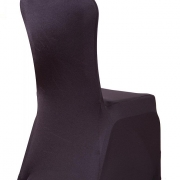 PREMIUM NYLON LYCRA CHAIR COVERS - BLACK FROM £1.99