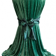 CRUSHED VELVET TABLE CLOTHS 132 ROUND - HUNTER FROM £11.99