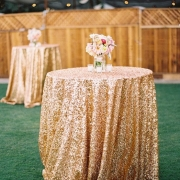 132 ROUND GOLD SEQUIN CLOTH FROM £24.99