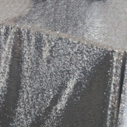 SEQUIN TABLE CLOTH 70X144 - SILVER FROM £24.99