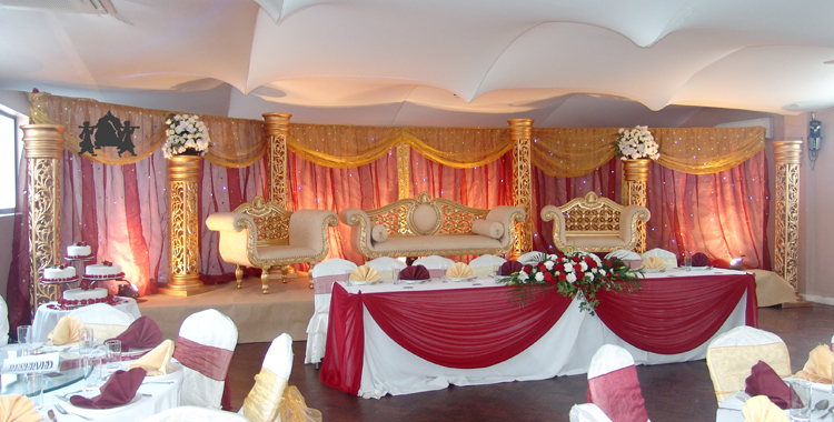 Empire events asian wedding services east london mehndi for Asian wedding decoration hire